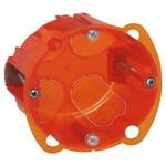 Legrand Batibox Orange Plastic Back Box, NF, IP00, Flush Mount, 1 Gangs