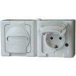 Kopp 16A White 2+E Pole Industrial Power Socket, 250V