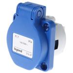 Legrand 16A Blue 3 Pole Industrial Socket, IP44