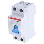 ABB 2 Pole Type AC Residual Current Circuit Breaker, 40A F200, 30mA