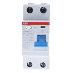 ABB 2 Pole Type AC Residual Current Circuit Breaker, 25A F200, 300mA