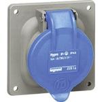 Legrand 16A Blue 3 Pole Plastic Industrial Socket, IP44