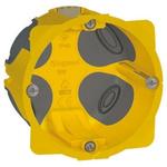 Legrand Ecobatibox Yellow Plastic Back Box, NF, IP00, Drylining Mount, 1 Gangs