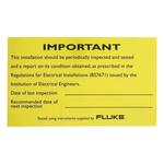 Fluke LAB01, Periodic Inspection Report