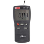 RS PRO ILM 1337 Light Meter, ±3 % ±5 Digits, With RS Calibration