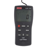 RS PRO ILM1335 Light Meter, 0lx to , ±3 % ± 0.5 Digit %, With RS Calibration