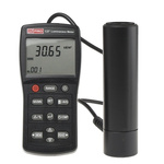 RS PRO Light Meter, 9.999 fL, 9.999 cd/m² to 199999lx, ±3 (Calibrated to Standard Incandescent Lamp (2856 K % @ +25°C