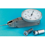 RS PRO Metric DTI Gauge, +0.8mm Max. Measurement, 0.01 mm Resolution, ±0.02 mm Accuracy With UKAS Calibration