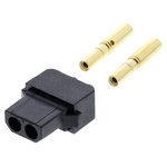 Datamate Connector Kit Containing 2 way SIL Female Shell, Crimps