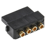 Datamate Connector Kit Containing 4 way SIL Female Shell, Crimps