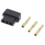 Datamate Connector Kit Containing 3 way SIL Female Shell, Crimps