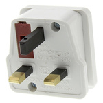 MK Electric UK to UK Travel Adapter, Rated At 1A