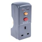 Masterplug RCD Plug Adapter 2 Pole ,Rated At 13A,240 V ac