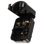 PowerConnections Europe to UK Mains Connector Converter, Rated At 13A