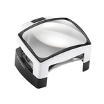 Eschenbach 1566 LED Magnifying Lamp with Table Lamp, 12dioptre, 100 x 75mm Lens
