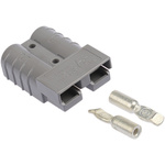 Anderson Power Products, SB50 Male Battery Connector, Cable Mount, 50A, 600.0 V