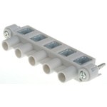 Abox PS Terminal Block Housing, Cable Mount, 6.0mm²