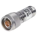 50Ω RF Attenuator N Connector N Plug to N Socket 0.5 dB, 6 dB, Operating Frequency 12.4GHz