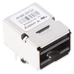 Broadcom AFBR-5972Z Fibre Optic Transceiver, 100Mbit/s, 650nm 8-Pin