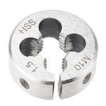 RS PRO Thread Die, M10 x 1.5mm Pitch, 1in od