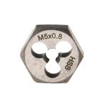 RS PRO 0.8mm Pitch M5 HSS Die Nut