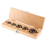 RS PRO 5 piece Carbon Steel 1/4 → 1/2 in UNC Die Nut Set