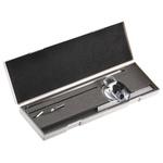 Kleffmann & Weese Metric Bevel Protractor, 360° Range, 300mm Stainless Steel Blade