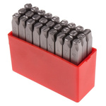 RS PRO 6mm x 27 Piece Engraving Letter Punch Set, (A to Z)
