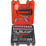 Bahco S-106 106 Piece Socket Set, 1/2 in, 1/4 in Square Drive