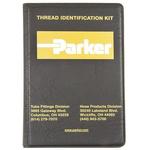 Parker Hydraulic Thread Identification Kit MIK-1, Caliper Set, Instruction Booklet, Thread Profiles