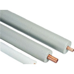 RS PRO PE Pipe Insulation, 15mm dia. x 9mm x 2m