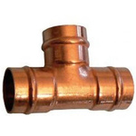 Conex-Banninger Equal Tee Solder Ring Copper Solder Fitting for 15 x 15 x 15mm Pipes
