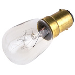 Moflash BA15d Incandescent Bulb, Clear, 240 V