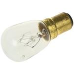 Moflash BA15d Incandescent Bulb, Clear, 110 V