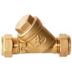 Altecnic, 22 mm Compression Brass Y Strainer