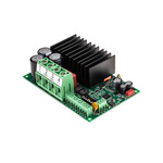 Electromen OY, DC Motor Controller, Potentiometer, Voltage Control, 12 → 48 V dc, 50 A, DIN Rail Mount, Panel