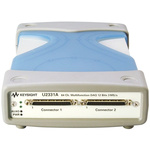 Keysight Technologies U2331A 64-Port USB 2.0 USB Data Acquisition, 1Msps