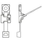 HellermannTyton HDM6 Series, Black Nylon 66 Cable Tie Assemblies380mm x 7.6mm