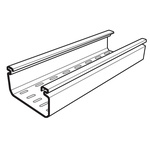 Cablofil International Perforated Cable Tray, PVC 3m x 75 mm x 50mm