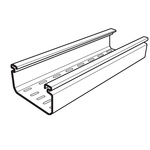 Cablofil International Perforated Cable Tray, PVC 3m x 150 mm x 50mm