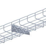 Cablofil International Cantilever Arm 316 Stainless Steel Cable Tray Fixing Plate, 335 mm Width, 88mm Depth