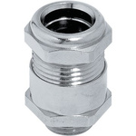 Lapp Nickel Plated Brass Cable Gland Kit, M25 Thread Size, 15.8 → 17.8mm Cable Diameter