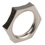 Lapp Nickel Plated Brass Cable Gland Locknut, M16 Thread