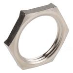 Lapp Nickel Plated Brass Cable Gland Locknut, M25 Thread