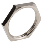 Lapp Nickel Plated Brass Cable Gland Locknut, M32 Thread