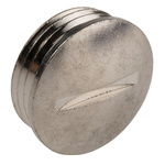Lapp PG11 Plug, Nickel Plated Brass, Threaded, IP54