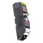 WJ Furse ESP E Series 16.7 V Maximum Voltage Rating 5 kA, 20 kA Maximum Surge Current Twisted Pair Surge Protector, DIN