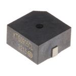 Kingstate 5V dc, Surface Mount Electromagnetic Buzzer, 80dB Continuous
