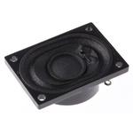 RS PRO 4Ω 2W Miniature Speaker, 40 x 28.3 x 11.5mm