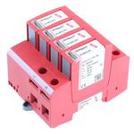 Dehn, DG 275 V ac Maximum Voltage Rating 40kA Maximum Surge Current Type 2 Arrester, DIN Rail